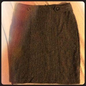 BCX grey pencil skirt